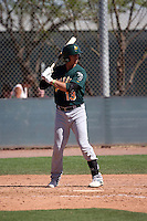 Steven Pallares - Oakland Athletics 2016 spring training (Bill Mitchell)