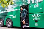 20.07.2019, Heinz Detmar Stadion, Lohne, Interwetten Cup 1.VfL Osnabrück vs SV Werder Bremen<br /> <br /> im Bild / picture shows <br /> Ankunft Werder bremen in Lohne<br /> Johannes Eggestein (Werder Bremen #24)<br /> Foto © nordphoto / Kokenge
