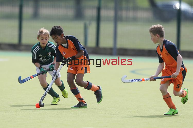 Welsh Youth Hockey Cup Final U11 Boys<br /> Penarth v Dysynni<br /> Swansea University<br /> 06.05.17<br /> ©Steve Pope - Sportingwales