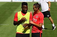 Nelson Mandela Mbouhom (Eintracht Frankfurt) und Mijat Gacinovic (Eintracht Frankfurt) - 24.07.2018: Eintracht Frankfurt Training, Commerzbank Arena