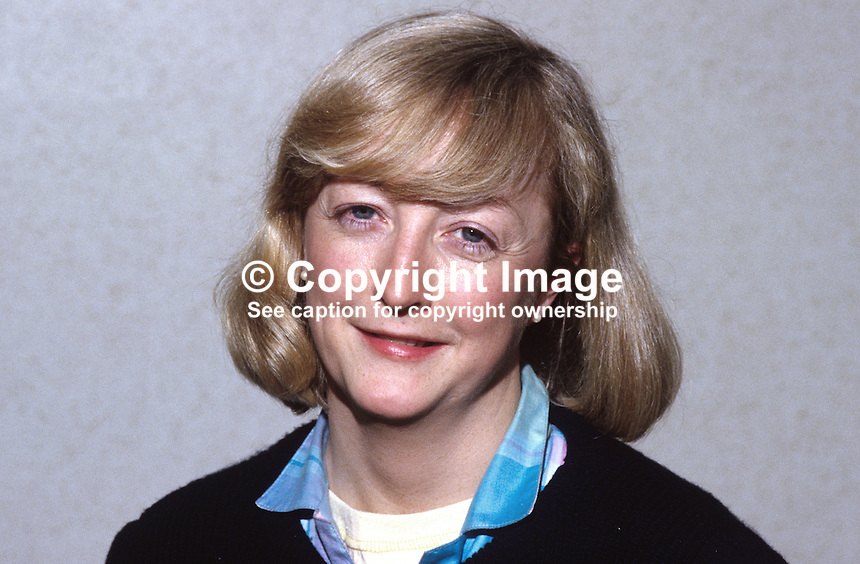 Monica McWilliams, lecturer, social policy, University of Ulster, N Ireland,19850036MMW2.<br /> <br /> Copyright Image from Victor Patterson, 54 Dorchester Park, Belfast, UK, BT9 6RJ<br /> <br /> t1: +44 28 9066 1296 (from Rep of Ireland 048 9066 1296)<br /> t2: +44 28 9002 2446 (from Rep of Ireland 048 9002 2446)<br /> m: +44 7802 353836<br /> <br /> e1: victorpatterson@me.com<br /> e2: victorpatterson@gmail.com<br /> <br /> www.victorpatterson.com<br /> <br /> IMPORTANT: Please see my Terms and Conditions of Use at www.victorpatterson.com