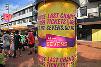 2019 Hamilton Sevens welcome at Garden Square in Hamilton, New Zealand on Friday, 25 January 2019. Photo: Dave Lintott / lintottphoto.co.nz