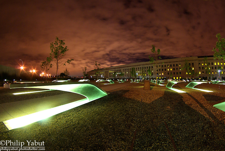Pentagon Memorial, Arlington, Virginia.