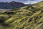 Rhyolite mountains, Landmannalaugar, Iceland