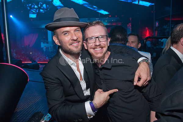 LAS VEGAS, NV - July 11: Matt Goss and Eddie Rich pictured as Meek Mill performs at Drai's Nightclub at The Cromwell in Las Vegas, NV on July 11, 2015. Credit: GDP Photos/ MediaPunch ***HOUSE COVERAGE***