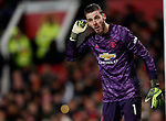 Manchester United's David De Gea during the Premier League match at Old Trafford, Manchester. Picture date: 4th December 2019. Picture credit should read: Darren Staples/Sportimage