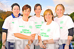 All set for the Lapping of the Lakes in Killarney on Saturday were Catherine Doyle, Eileen Coffey, Lisa Fogarty, Rosanne Fogarty and Elizabeth Doyle.