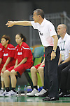 Tomohide Utsumi (JPN), AUGUST 6, 2016 - Basketball : <br /> Women's Preliminary Round <br /> between  Japan 77-73 Belorussiya  <br /> at Youth Arena <br /> during the Rio 2016 Olympic Games in Rio de Janeiro, Brazil. <br /> (Photo by Yusuke Nakanishi/AFLO SPORT)