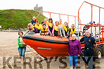 Chernobyl Kids Visit : 10 children from Belarus were entertained by the Ballybunion Sea & Cliff Rescue on Friday last  pictured with their minders Liliya & Tatianna & T J Mccarron & Frank O'Connor of the Ballybunion Sea & Cliff Rescue.