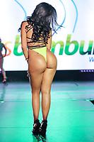 CIDADE DO MÉXICO, MÉXICO, 30.09.2019 - MISS-BUMBUM - Monse Miranda durante a final do concurso Miss Bumbum World na  ForoTotal Play na Cidade do México na capital mexicana nesta segunda-feira, 30.  (Foto: William Volcov/Brazil Photo Press)