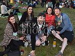Amanda Healy, Caroline Martin, Aoife Keenan, Danny Ryan and Eoin Reilly at the Vantastival Festival at Beaulieu House.  Photo:Colin Bell/pressphotos.ie