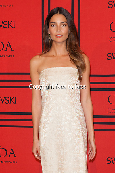 NEW YORK, NY - JUNE 3: Lily Aldridge at the 2013 CFDA Fashion Awards at Lincoln Center's Alice Tully Hall in New York City. June 3, 2013. <br /> Credit: MediaPunch/face to face<br /> - Germany, Austria, Switzerland, Eastern Europe, Australia, UK, USA, Taiwan, Singapore, China, Malaysia, Thailand, Sweden, Estonia, Latvia and Lithuania rights only -