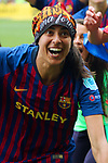 UEFA Women's Champions League 2018/2019.<br /> Semi Finals<br /> FC Barcelona vs FC Bayern Munchen: 1-0.<br /> Andressa Alves.