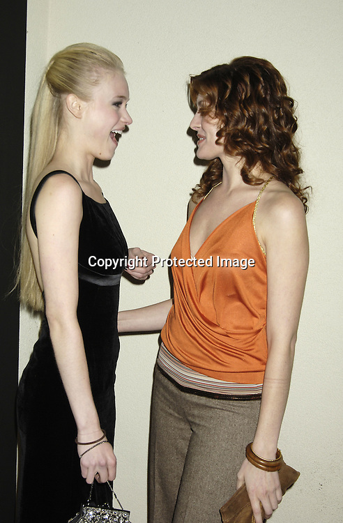 Leven Rambin and Connie Fletcher of All My Children ..at ABC Casino Night on October 27, 2005 at The Lighthouse at Chelsea Piers. ..Photo by Robin Platzer, Twin Images