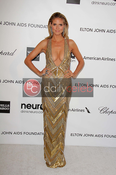 Heidi Klum<br /> at the Elton John Aids Foundation 21st Academy Awards Viewing Party, West Hollywood Park, West Hollywood, CA 02-24-13<br /> David Edwards/DailyCeleb.com 818-249-4998
