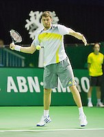 10-02-13, Tennis, Rotterdam, qualification ABNAMROWTT, Daniel Brands