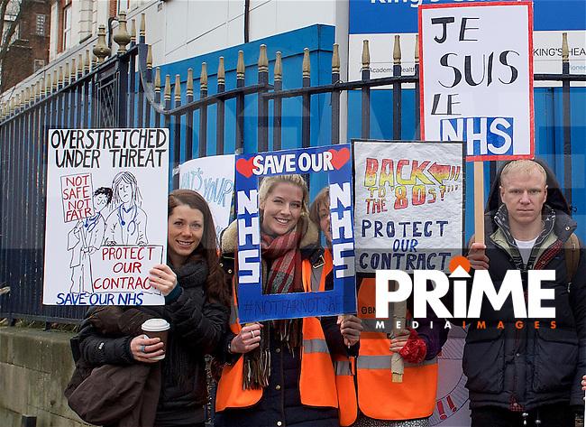 Junior Doctors Strike at Kings College Hospital 9/03/2016 | Prime