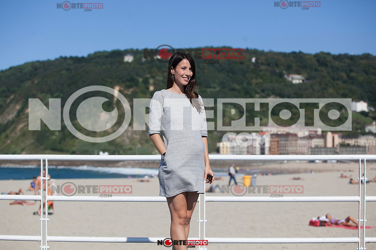 Spanish actress Barbara Goenaga poses during 63rd Donostia Zinemaldia (San Sebastian International Film Festival) in San Sebastian, Spain. September XX, 2015. (ALTERPHOTOS/Victor Blanco) /NortePhoto.com