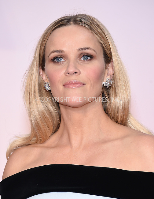 WWW.ACEPIXS.COM<br /> <br /> February 22 2015, Los Angeles Ca.<br /> <br /> Actress Reese Witherspoon arriving at the 87 th Annual Academy Awards at the Hollywood and Highland center on February 22 2015 in Hollywood CA.<br /> <br /> <br /> Please byline: Z15/ACE Pictures<br /> <br /> ACE Pictures, Inc.<br /> www.acepixs.com<br /> Email: info@acepixs.com<br /> Tel: 646 769 0430