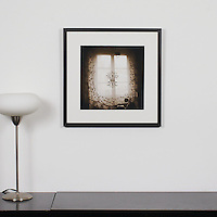 "D'Amore: ""Curtains"", Digital Print, Image Dims. 14"" x 14"", Framed Dims. 21"" x 21"" , film art"