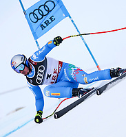 ARE,SWEDEN,06.FEB.19 - ALPINE SKIING - FIS Alpine World Ski Championships, Super G, men. Image shows Dominik Paris (ITA) Gold Medal <br /> Photo: GEPA pictures/ Wolfgang Grebien/Insidefoto <br />  <br /> ITALY ONLY