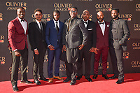 A Night in Miami cast &amp; director at The Olivier Awards 2017 at the Royal Albert Hall, London, UK. <br /> 09 April  2017<br /> Picture: Steve Vas/Featureflash/SilverHub 0208 004 5359 sales@silverhubmedia.com