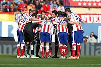 2014 November 30 Madrid Spain. BBVA 14/15, 13º Match, match played between Atletico de Madrid vs Deportivo de la CoruĐa at Vicente Calderon stadium.