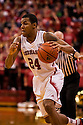 December 3, 2012: Dylan Talley (24) of the Nebraska Cornhuskers drives to the basket against the USC Trojans during the second half at the Devaney Sports Center in Lincoln, Nebraska.Nebraska defeated USC 63 to 51.