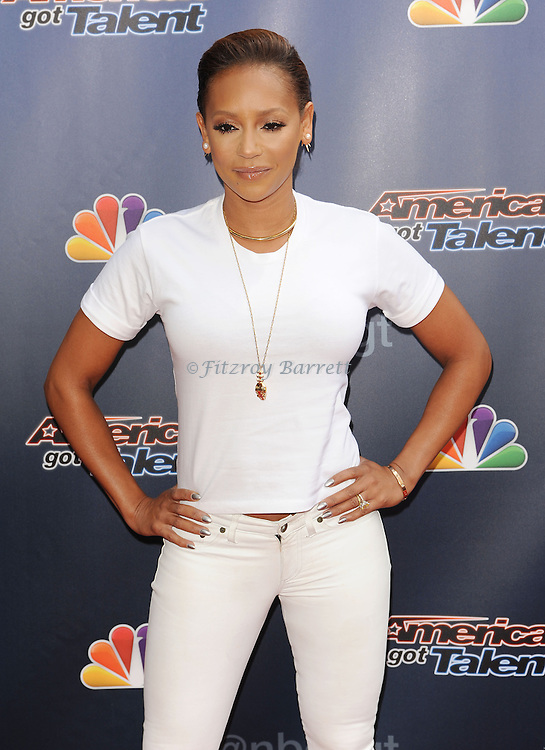 Mel B arriving at 'America's Got Talent Red Carpet 2014' held at The Dolby Theatre Los Angeles, CA. April 22, 2014.
