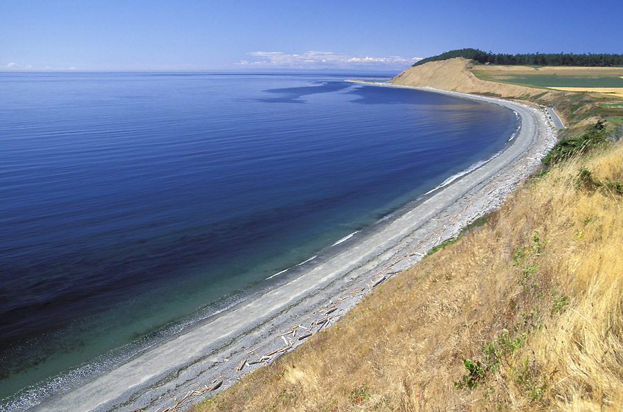 Ebey's Landing, Ebey's Landing National Historic Reserve, Coupeville, Whidbey Island, Washington