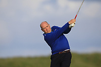 Joe Lyons (Galway) on the 9th tee during Round 2 of The East of Ireland Amateur Open Championship in Co. Louth Golf Club, Baltray on Sunday 2nd June 2019.<br /> <br /> Picture:  Thos Caffrey / www.golffile.ie<br /> <br /> All photos usage must carry mandatory copyright credit (© Golffile   Thos Caffrey)