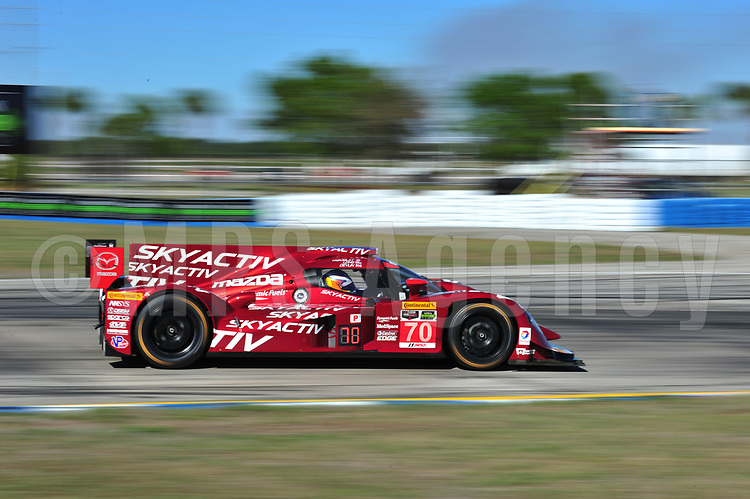 #70 SPEEDSOURCE MAZDA MAZDA SYLVAIN TREMBLAY (USA) TOM LONG (USA) BEN DEVLIN (GBR)