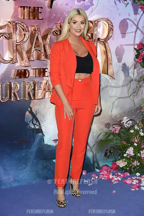 LONDON, UK. November 01, 2018: Andrea McLean at the European premiere of &quot;The Nutcracker and the Four Realms&quot; at the Vue Westfield, White City, London.<br /> Picture: Steve Vas/Featureflash
