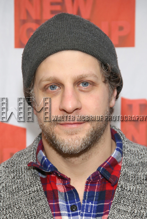 "Joe Tippett attends the New Group's ""All the Fine Boys"" rehearsal photocall at their rehearsal studio on February 3, 2017 in New York City."
