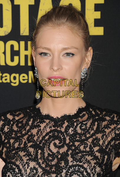 LOS ANGELES, CA- MARCH 19: Cynthia Kirchner arrives at the Los Angeles premiere of 'Sabotage' at Regal Cinemas L.A. Live on March 19, 2014 in Los Angeles, California.<br /> CAP/ROT/TM<br /> &copy;Tony Michaels/Roth Stock/Capital Pictures