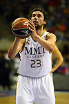 R. Madrid vs Mad-Croc Fuenlabrada: 75-66 - Copa del Rey 2012 - Cuartos de final.