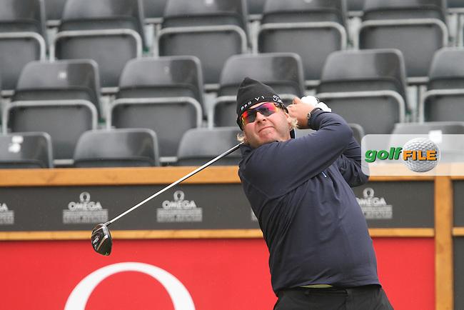 Michael Zonzon (SWE) on Day 2 of the Omega European Masters 2012, Golf Club Crans-Sur-Sierre, Crans Montana, Switzerland, 31/8/12...(Photo Jenny Matthews/www.golffile.ie)