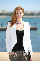 "Rachelle Lefèvre attends the photocall of "" Under The Dome "" at the 2013 Mipcom in Cannes - France"