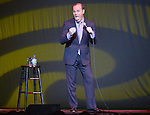 HOLLYWOOD, FL - JANUARY 04: Tom Papa performs as a opening act for Jerry Jerry Seinfeld at Hard Rock Live! in the Seminole Hard Rock Hotel & Casino on January 4, 2013 in Hollywood, Florida. (Photo by Johnny Louis/jlnphotography.com)