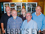 Charity Exhibit<br /> --------------------<br /> Admiring the photographic exhibition  by Robert O'Mahony of his charity work in Kenya in February 2016, last Thursday evening in Stokers Lodge, Tralee were L-R Paudie Lynch, Ed Kelliher, Mike Counihan, Donie O'Connor with Ed O' Brien.