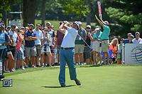 Phil Mickelson (USA) watches his tee shot on 8 during 3rd round of the World Golf Championships - Bridgestone Invitational, at the Firestone Country Club, Akron, Ohio. 8/4/2018.<br /> Picture: Golffile | Ken Murray<br /> <br /> <br /> All photo usage must carry mandatory copyright credit (© Golffile | Ken Murray)
