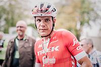 race winner Jasper Stuyven (BEL/Trek-Segafredo)<br /> <br /> 59th Grand Prix de Wallonie 2018 <br /> 1 Day Race from Blegny to Citadelle de Namur (BEL / 206km)