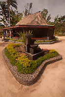 Fountain Outside of Gift Shop, Turtle Island, Yasawa Islands, Fiji