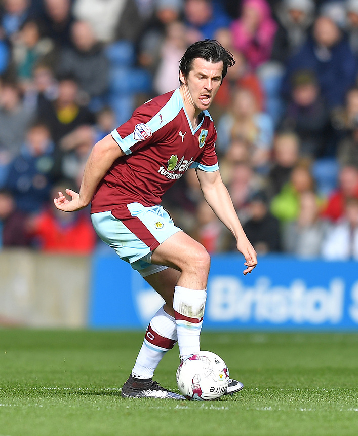 Burnley's Joey Barton<br /> <br /> Photographer Dave Howarth/CameraSport<br /> <br /> Football - The Football League Sky Bet Championship - Burnley v Queens Park Rangers - Monday 2nd May 2016 - Turf Moor - Burnley<br /> <br /> &copy; CameraSport - 43 Linden Ave. Countesthorpe. Leicester. England. LE8 5PG - Tel: +44 (0) 116 277 4147 - admin@camerasport.com - www.camerasport.com