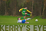 Kerry's Fiachra Dunne and Limerick's Dan Goggins.   Copyright Kerry's Eye 2008