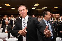 RIO DE JANEIRO, RJ, 04.04.2017 - LAAD-ABERTURA -  Deputado Jair Bolsonaro participa da cerimônia de abertura da LAAD 2017, no Riocentro, Rio de Janeiro, nesta terça-feira, 04. (Foto: Clever Felix/Brazil Photo Press)