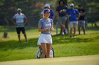 Michelle Wie (USA) looks over her bunker shot on 2 during round 3 of the 2018 KPMG Women's PGA Championship, Kemper Lakes Golf Club, at Kildeer, Illinois, USA. 6/30/2018.<br /> Picture: Golffile | Ken Murray<br /> <br /> All photo usage must carry mandatory copyright credit (&copy; Golffile | Ken Murray)