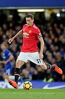 Nemanja Matic of Manchester United during Chelsea vs Manchester United, Premier League Football at Stamford Bridge on 5th November 2017