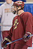 Chris Collins - The Boston College Eagles practiced on Wednesday, April 5, 2006, at the Bradley Center in Milwaukee, Wisconsin, in preparation for their 2006 Frozen Four Semi-Final game against the University of North Dakota.