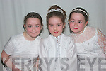 Young Modals in The Annual Spring fashion Show in The Tintean Theatre Ballybunion on Thursday night were Ellen Tydings, Sinead Harahan and Chritine Tidings .....   Copyright Kerry's Eye 2008